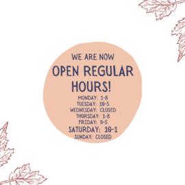 Regular Hours